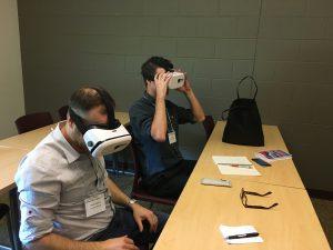Virtual reality was on display at MADLaT 2017.