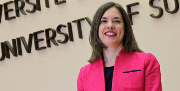 Dr. Sophie Bouffard, new USB President